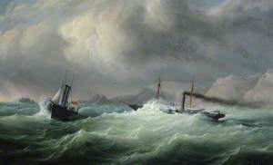 Rescue of RMS 'Dispatch' by HMS 'Dasher', 17 October 1853