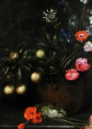 Still Life with Flowers (Poppies in Formal Groups)