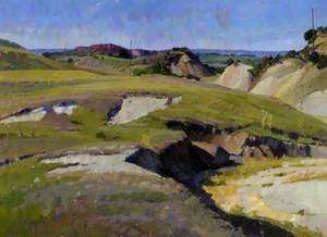 Landscape in the Coulon Valley, Vaucluse