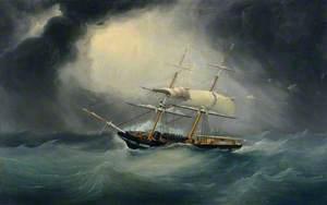 The 'Lavinia' of Jersey (Master Francis Aubin)