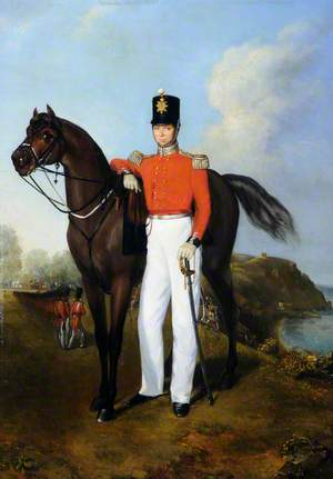 Officer of the 2nd or North Regiment