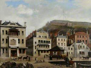 Old Quay Showing the London Hotel