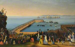 The Departure of Her Majesty Queen Victoria, 3 September 1846
