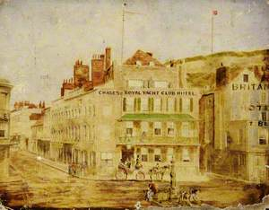 Chase's Royal Yacht Club Hotel and Mulcaster Street