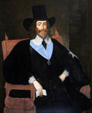 King Charles I at His Trial, Wearing the Garter Ribbon