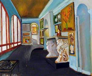 Interior of Augres Studio