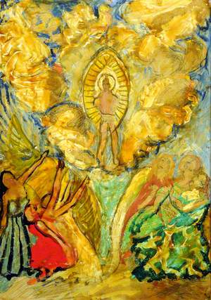Study for the Great Altarpiece Ascension