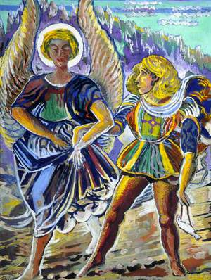 Angel and Saint