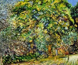 Trees in Our Park, Le Coin, La Haule, Jersey