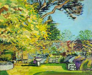 Sunshine in the Lime Trees outside My Studio, Le Coin