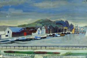 Dùn Laoghaire Harbour, Éire