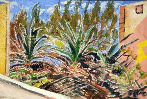 Aloes and Cacti on No-Man's Land adjacent to Aran Cay, Nassau