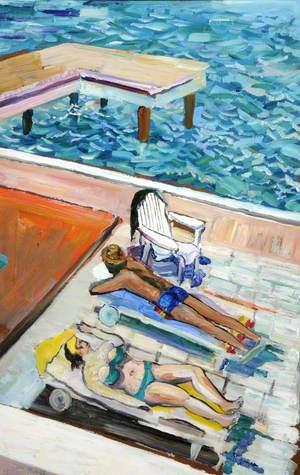 Aran Cay Sunbathers