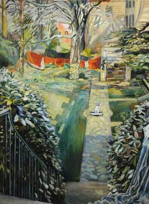 Airing Curtains, The Garden, Doughty House, Richmond