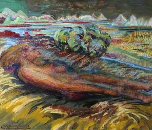 'Sleep' – An Allegorical Figure