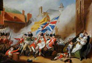 The Death of Major Peirson, 6 January 1781