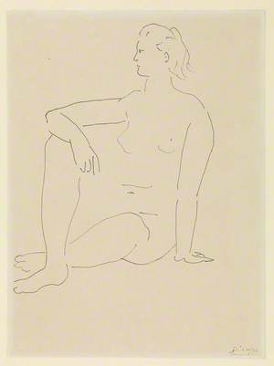 Seated Woman (Femme assise)