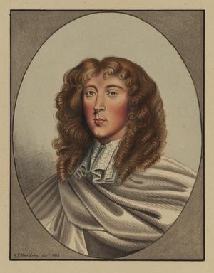 Miniature Portrait Bust of William Lord Crofts