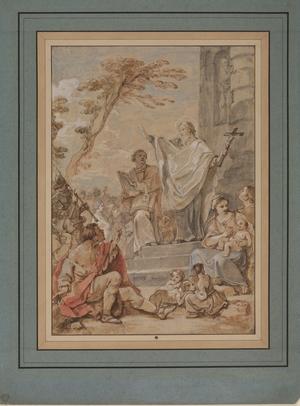 The Sermon of Saint Ferréol and Saint Ferjeux for the Basilica at Besançon