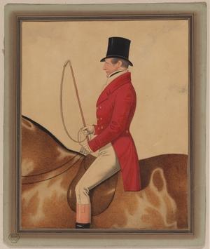 Portrait of a Man on Horseback