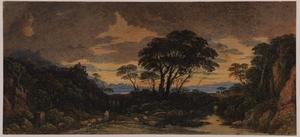 Landscape Idyll – Sunset