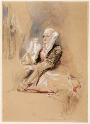 Madame Giuseppina in Turkish Dress