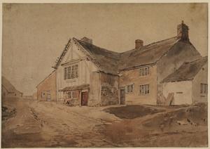 Cottage near Kirkstall Abbey, Yorkshire