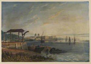 Royal Hospital for Seamen, Greenwich, from the North-East