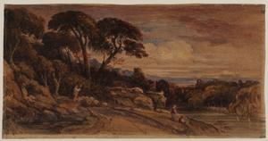Italian (?) Landscape – Evening