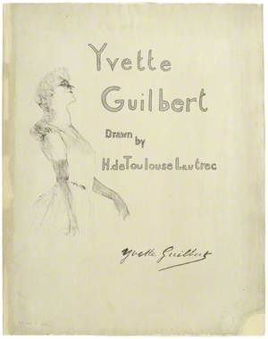 Cover for 'Yvette Guilbert' – Serie Anglaise (The English Series)