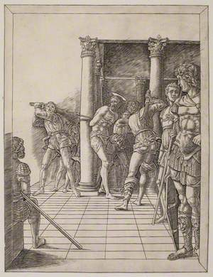 The Flagellation, with Paved Floor
