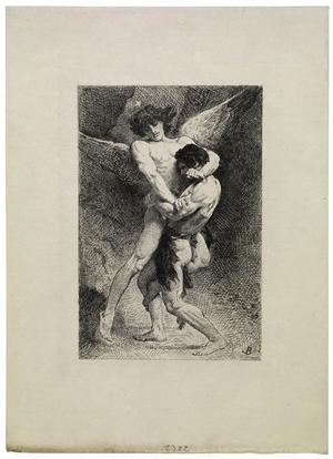 Jacob Wrestling with the Angel (La lutte de Jacob)
