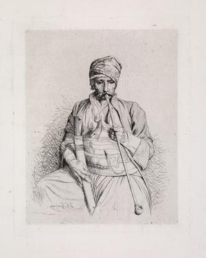 Le fumeur egyptien (The Egyptian Smoker)