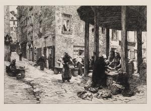 The Fish Market at Saint Malo