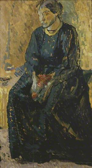 Seated Woman, Ka Cox