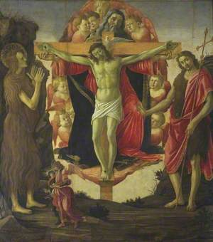 The Trinity with Saint Mary Magdalen and Saint John the Baptist, the Archangel Raphael and Tobias