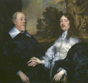 Portrait of an Old and a Younger Man (John Taylor and John Denham)