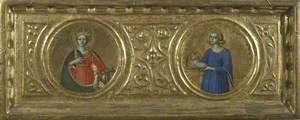 Saint Catherine of Alexandria and Saint Agnes