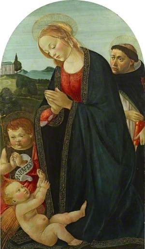 Virgin and Child with the Infant Saint John and Saint Peter Martyr