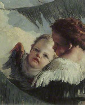 Two Heads of Angels