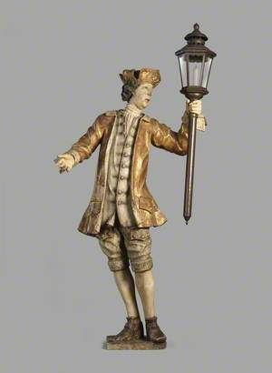 Torchere in the Form of a Footman Holding a Torch