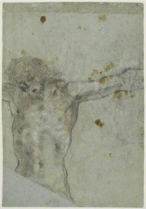 Study of a Crucified Christ