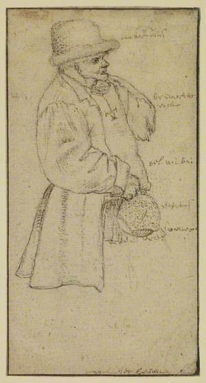 Peasant Carrying a Jar
