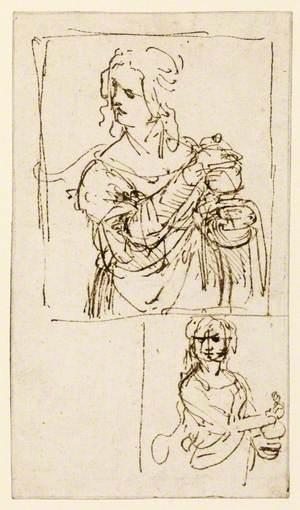 Studies for Saint Mary Magdalene