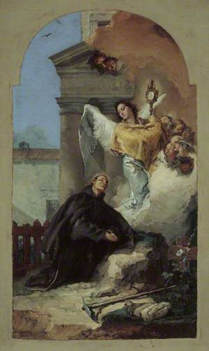 Saint Paschal Baylon's Vision of the Eucharist