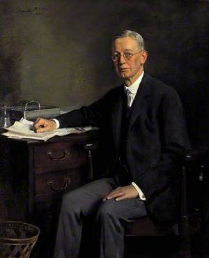 Sir Ernest Musgrave Harvey (1867–1955), Chief Cashier of the Bank of England (1918–1925)