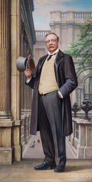 Lord Cunliffe (1855–1920), GBE, Governor of the Bank of England (1913–1918)