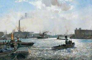 The Lower Pool and Limehouse Reach, London