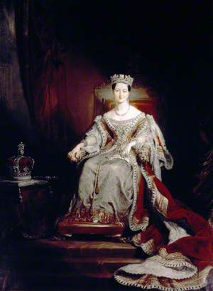 Queen Victoria (1819–1901), Enthroned in the House of Lords