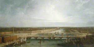 George Dance's Design for the New London Bridge, London